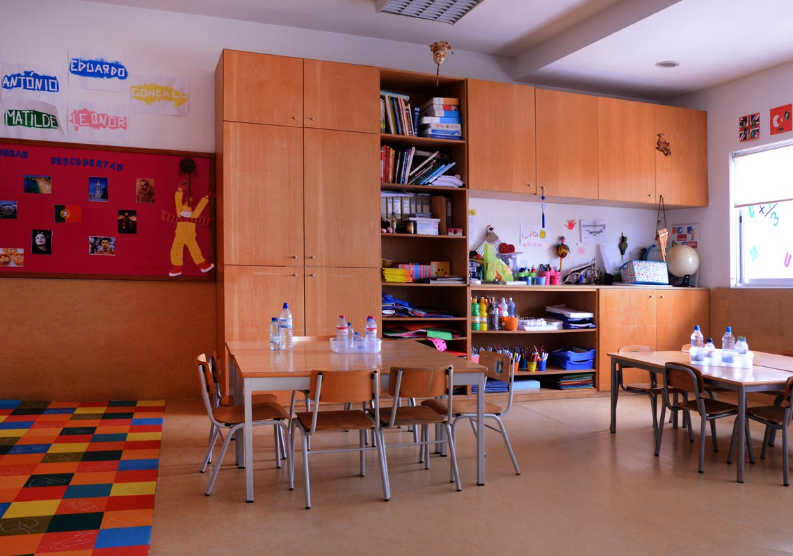 pré-escolar salas