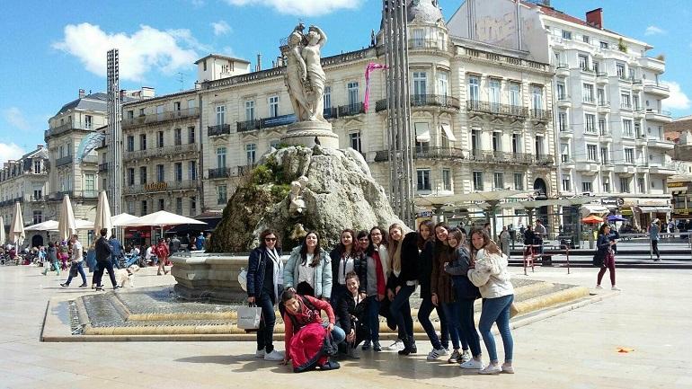Intercâmbio com Montpellier