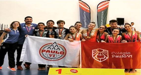 Tri-Campeões Ginástica Acrobática