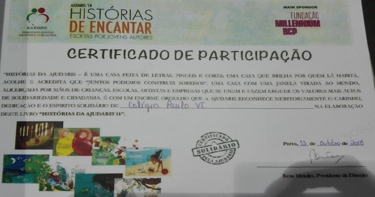 """""""Histórias da Ajudaris 2018"""""""