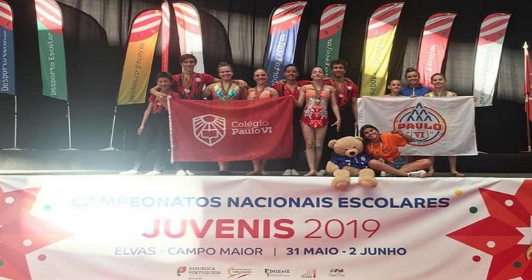 Campeões Nacionais de Desporto Escolar 2019