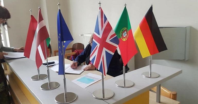 """Projetos Internacionais """"Erasmus + KK21"""""""