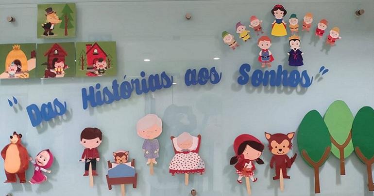 """Exposição Creche  """"Das Histórias aos Sonhos"""""""