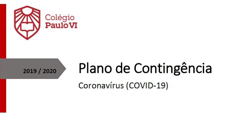 Plano de Contingência (COVID-19) Maio 2020