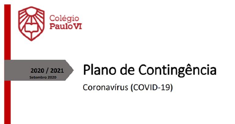 Plano de Contingência Covid-19 2020/2021