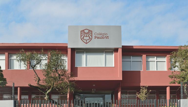 História Fachada Edifício Colégio Paulo VI